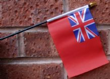 HAND WAVING FLAG (SMALL) - British Red Ensign